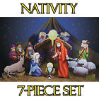 NATIVITY SET of CARDBOARD CUTOUT Standees Standups Christmas Manger Scene F S