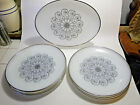 8 pcs -Anchor Hocking, Suburbia, Vienna Lace, Milk Glass Platter,