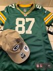 GREENBAY PCKERS JERSEY & HAT. Brand new condition. Nelson Jersey. NFL
