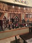 Three Backdrop Stores For Byers Choice Carolers Lamp Posts Fences