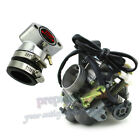 PD24J Carburetor  Intake Manifold For GY6 125cc 150cc ATV Go Kart Moped Scooter