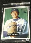 2005 Bowman Heritage Justin Verlander Auto RC #4 20 Factory Sealed Uncirculated