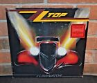 ZZ TOP Eliminator Limited Import RED COLORED VINYL LP New  Sealed