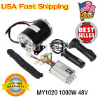 MY1020 1000W 48V Electric Motor Controller Throttle Chain for Scooter Go kart