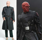 Captain America Red Skull Complete Outfit Uniform Costume Cosplay Custom Made