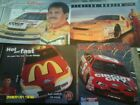 LOT 12 DIF NASCAR PROMO SHEETS FROM 90S NICE COLORFUL HARD TO FIND WALTRIP