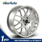 1 Pcs 17 Wheels 17X7 Rims 4X100 731 +42mm Offset Fits 2003 Mini Cooper Silver
