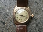 Vintage Rolex Oyster 1920s solid gold mans watch