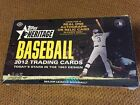 2012 Topps Heritage Hobby Box Mike Trout? Real One Autograph? Rc
