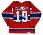 Larry Robinson Autographed Montreal Canadiens Jersey COA T1M Sports Marketing
