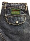 Vtg Bugle Boy Jeans Mens 30x29 Stonewashed Air Command Baggy Tapered Leg 90s