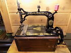 Antique Weed hand crank sewing machine that I have restored. 1873
