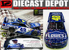 JIMMIE JOHNSON 2017 DOVER WIN RACED VERSION LOWES 1 24 SCALE ACTION