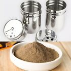 Stainless Steel Outdoor Camping Condiment Shaker for Salt Pepper Spice Sugar