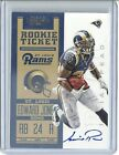 2012 Panini Contenders Football Rookie Ticket RPS Autographs Guide 41