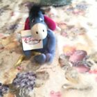 """Disney Retired Beanie Plush """"EEYORE AS CUPID"""" w/Tags Attached 8"""" Tall"""