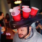 Inflatable Beer Pong Hat Floating Pong Game For Swimming Pool Party Supplies
