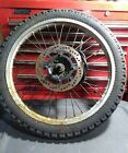 Honda 600 XL XL600-R XL 600 R Used Front Wheel Rim 1983 Vintage 1.60x21 rim DID