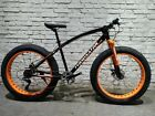 Fat Bike JHI Terminator Extreme 26 X 4 wheels Bicycle with 7 Shimano Gears