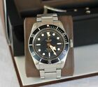 Tudor Black Bay black ETA 79220N, full set, box & papers, bracelet + strap!