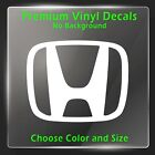 Honda Decal - Honda Car Emblem Logo Vinyl Sticker - Civic Accord VTEC