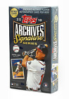 2018 Topps Archives Signature Series Retired Players MLB Sealed Hobby Box