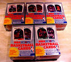 1989 Hoops Series 1 Basketball Box Cellophane Wrapped LOT OF FIVE NICE BOXES