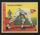Rogers Hornsby Cards, Rookie Card and Autographed Memorabilia Guide 9