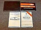 1989 Chevy Beretta Coupe Owner Owner's User Guide Manual Set GT GTU 2.0L 2.8L V6