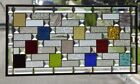 • Spice of Life •Beveled Stained Glass Window Panel • 33 3/4