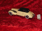 1937 Cord 812 Phaeton Coupe Convertible 124 Scale Diecast Car Franklin Mint