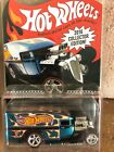 2016 Hot Wheels MAIL IN AWAY BLOWN DAIRY DELIVERY BLUE REAL RIDERS