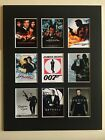 James Bond 3 Retro Film Poster Mounted Picture 14