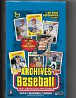 2018 Topps Archives Baseball Factory Sealed Hobby Box 2 Autograph Cards PER BOX