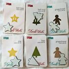 quickutz DECK THE HALLS cookie cutter christmas die cuts lot of 6