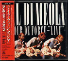 AL DI MEOLA Tour De Force Live JAPAN 1st Press CD 35DP41 W/Box Obi 3500yen