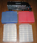 Lot of 5 Storage Carry Cases Hot Wheels Matchbox Sized Diecast Vehicle Plano