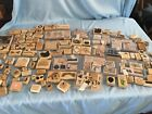 Huge LOT 150+ Mixed Wooden Block Rubber Stamp Sets Various