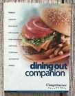 Weight Watchers FLEX points Dining Out Restaurant Companion Guide Book 2003