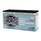 2018 Topps Archives Snapshots SEALED BOX, 1 AUTO, Acuna, Ohtani, Trout, Judge?