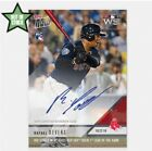 2018 TOPPS NOW AUTO ROOKIE CARD 99 WORLD SERIES RED SOX RAFAEL DEVERS #949A