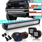 32 LED Light Bar Combo Beam For 150cc Go Kart Trailmaster Blazer For ATV Tundra