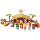 Little People Christmas Story Nativity Scene Kids Play Set Holiday Decoration