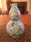 Rare 7 Hand Painted Vase Marked On Bottom Collectible