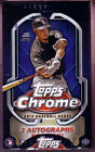 2014 Topps Chrome Sealed Hobby Box 2 Auto's Per Box Possible Ramirez Springer RC