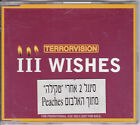 TERRORVISION 3 WISHES   RARE OOP ISRAEL PROMO  CD SINGLE  FROM 1999
