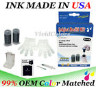 Self refill kit for HP63 Black ink cartridges HP63 Refill ink