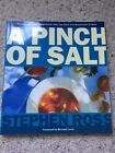 A Pinch Of Salt Cookbook Signed by UK Author Stephen Ross