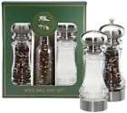 Chef Specialties 7 Lehigh Acrylic Salt Shaker  Pepper Mill Grinder Gift Set