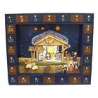 Kurt Adler Nativity Advent Calendar 25Pc